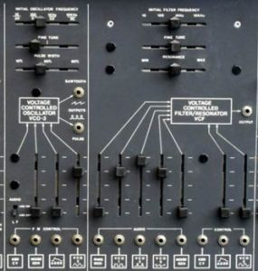 ARP 2600 panel
