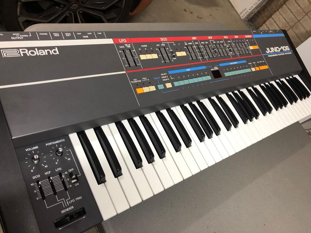 Roland Juno-106 Repair Final Wide
