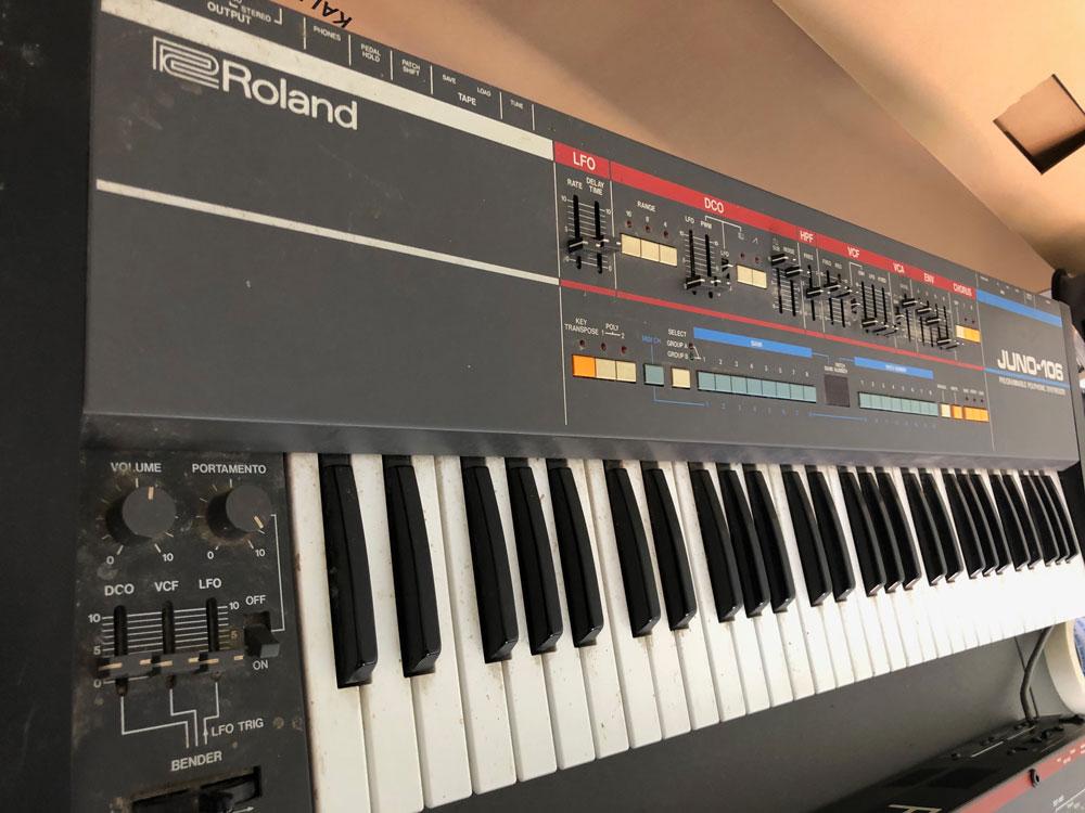Roland Juno-106 Repair Initial Wide