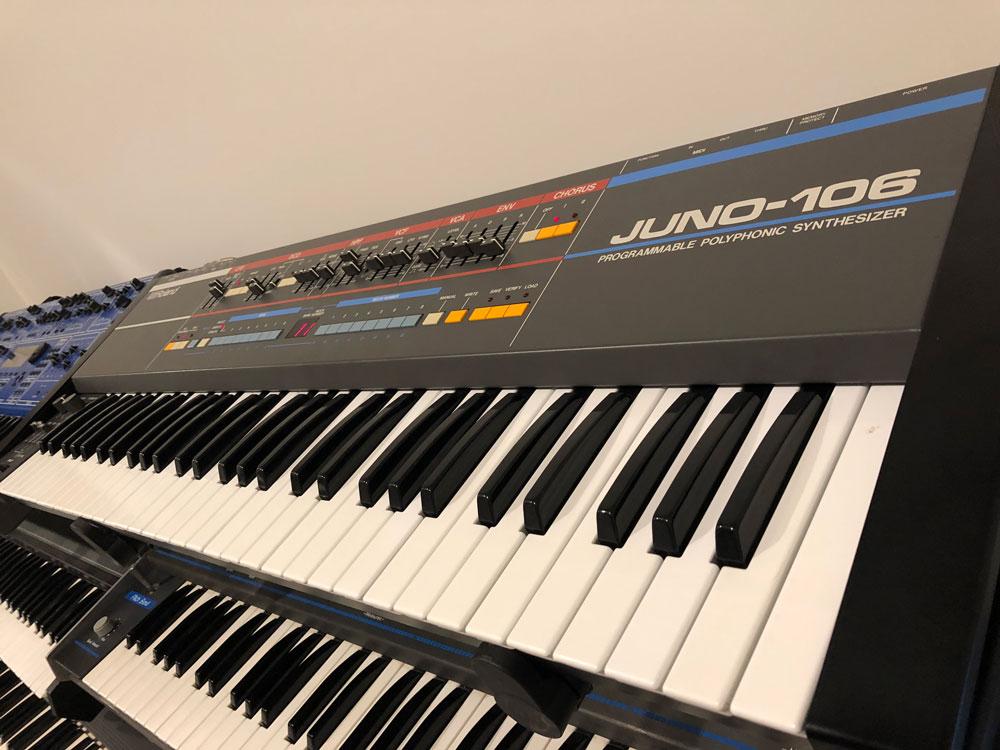 Roland Juno-106 Studio Shot 02